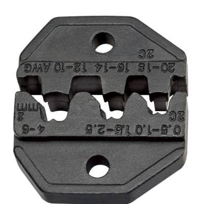 Non-Insulated/Open Barrel 10 to 20 AWG Crimping Die Set