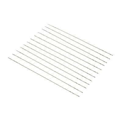 #2/0 Spiral Pinless Scroll Saw Blades, 12-Pack