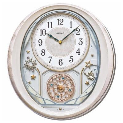 Pink Twinkle and Magic Bright Star 18-Hi-Fi Melodies in Motion Clock