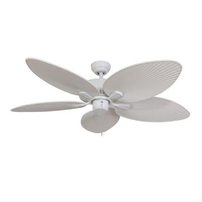 Tortola 52 in. White Ceiling Fan