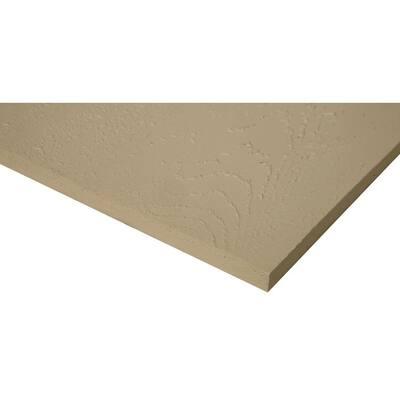 16 in. Sandstone Beige Eastern White Cedar Shingle Siding (25 sq. ft./Box)
