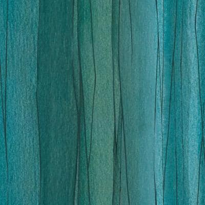 Blue and Green Making Waves Peel and Stick Wallpaper (Covers 28.29 sq. ft.)