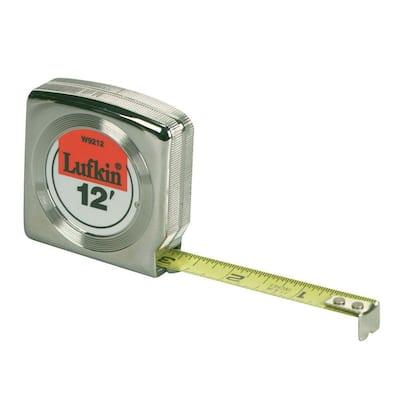 12 ft. x 1/2 in. Power Return Tape Measure