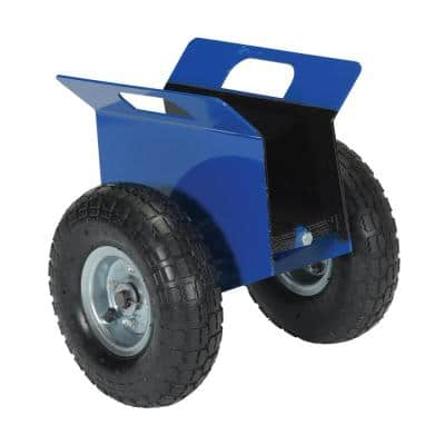 500 lb. Capacity Adjustable Plate and Slab Dolly with Pneumatic Wheels