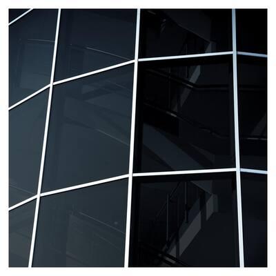 48 in. x 50 ft. NA20 Daytime Privacy and Sun Control Black (Dark) Window Film