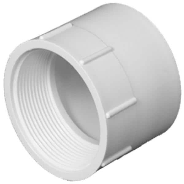 Charlotte Pipe 6 In Dwv Pvc Female Adapter Pvc001011600hd The Home Depot