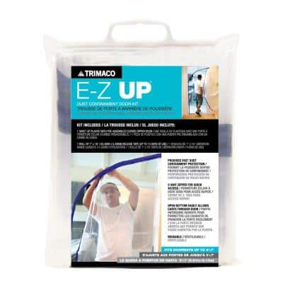 E-Z Up Dust Containment Door