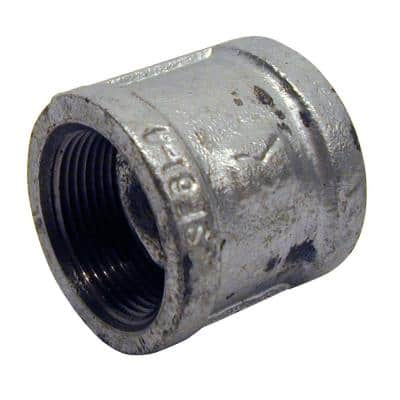 1-1/2 in. Galvanized Malleable Iron FPT x FPT Coupling