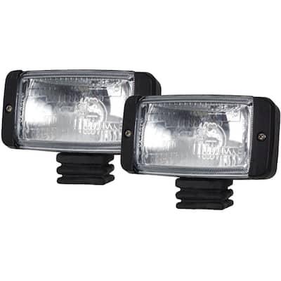 35-Watt Black 2 Qt. Docking Light Kit, Pair