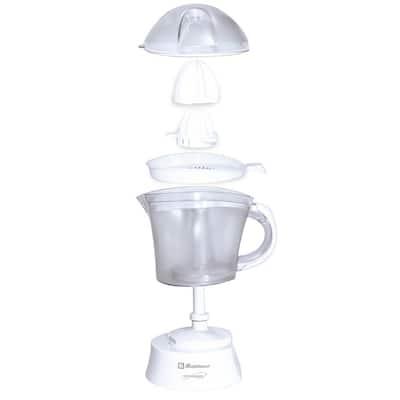 Kitchen Magic Collection 40 oz. White Citrus Juicer