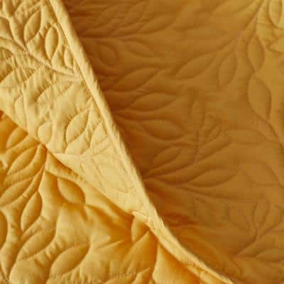 Company Cotton™ Mini Leaf Floral Percale Quilt