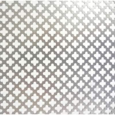 1 ft. x 2 ft. Cloverleaf Mill Aluminum Sheet