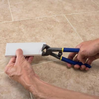 8 in. Rustproof Steel Tile Nipper for Tile up to 1/4 in. Thick