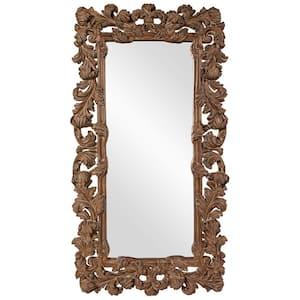 Oversized Copper Composite Antiqued Classic Mirror (92 in. H X 48 in. W)