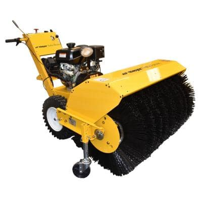 Commercial-Grade 36 in. Single-Stage Walk-Behind Rotary Gas Snow Blower/Broom