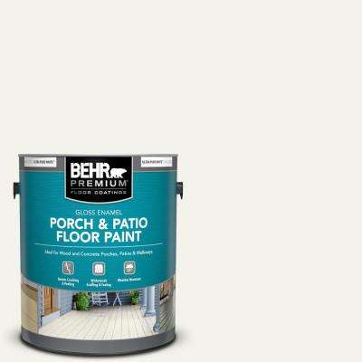 1 gal. #W-F-600 Snow Fall Gloss Enamel Interior/Exterior Porch and Patio Floor Paint
