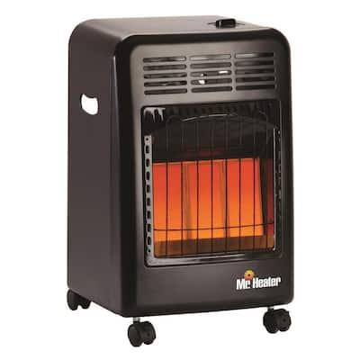 18,000 BTU Radiant Propane Portable Cabinet Space Heater