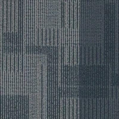 Jett Ties Loop 24 in. x 24 in. Carpet Tile (18 Tiles/Case)