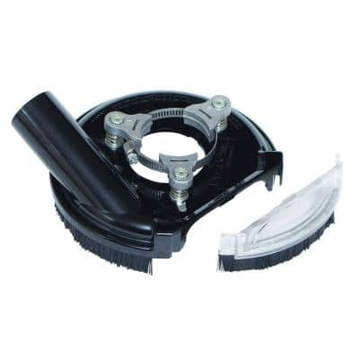 5 in. Universal Dust Shroud Pro for Angle Grinders