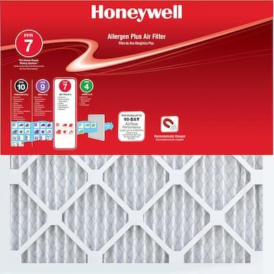 18 x 36 x 1 Allergen Plus Pleated FPR 7 Air Filter