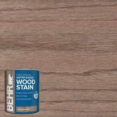 1 qt. #TIS-512 Classic Gray Transparent Water-Based Fast Drying Interior Wood Stain