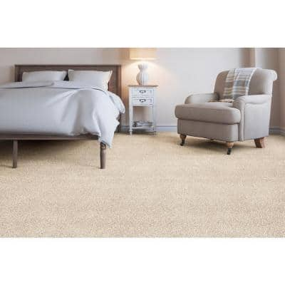 Soft Breath I - Color Abbey Texture 12 ft. Carpet
