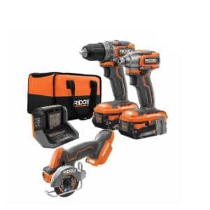 18V SubCompact Brushless 2-Tool Combo Kit with (2) 2.0 Ah Batteries, Charger, Bag and Free 3 in. Multi-Material Saw
