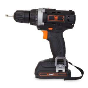 20-Volt MAX Lithium-Ion 3/8 in. Cordless Drill/Driver with Bits and Carrying Bag