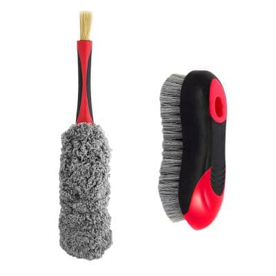 Car Interior Brush Kit