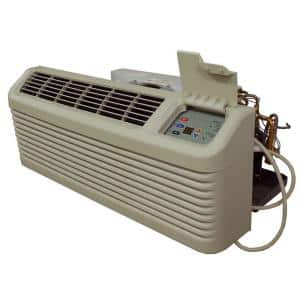 15,000 BTU R-410A Packaged Terminal Air Conditioning + 5.0 kW Electric Heat 230-Volt