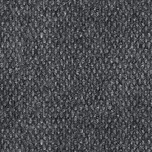 Peel and Stick Design Smart Smoke Hobnail 18 in. x 18 in. Residential Carpet Tile (10 Tiles/Case)