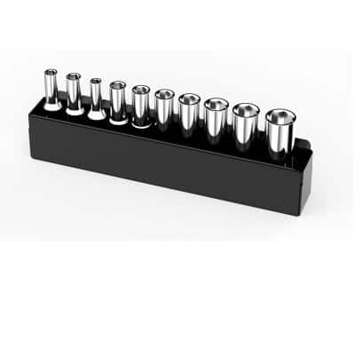6.8 in. W Magnetic 1/4 in. Drive Deep Socket Tray