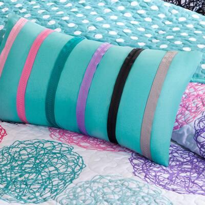 Audrina Print Coverlet Quilt Set