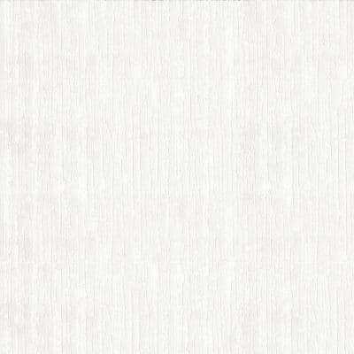 Baroque White Paper Peelable Roll (Covers 56 sq. ft.)