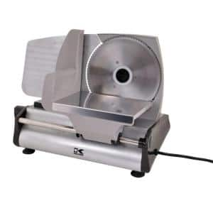 Professional Style 180 W Silver Electric Food Slicer