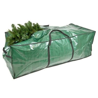 Tarp Rolling Christmas Tree Storage Bag for Trees Up to 9 ft. Tall