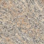5 ft. x 12 ft. Laminate Sheet in Brazilian Brown Granite with Premiumfx Radiance Finish