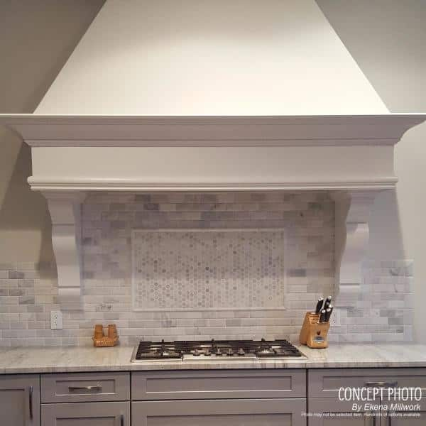 Ekena Millwork 8 3 4 In X 4 5 8 In X 11 In Primed Polyurethane Forest Leaf Corbel Cor08x04x11fo The Home Depot