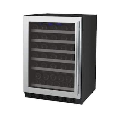 FlexCount II Single Zone 56-Bottle Built-in Wine Refrigerator