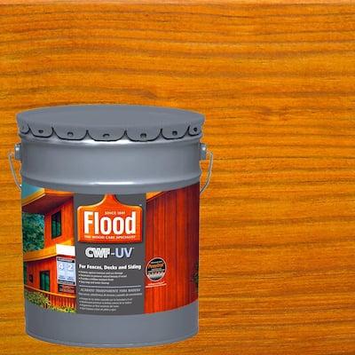 5 gal. Honey Gold Transparent CWF-UV Penetrating Exterior Wood Stain