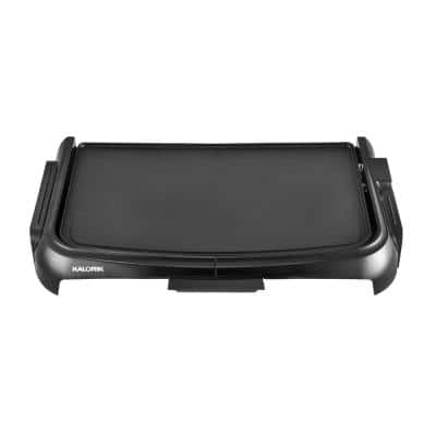 160 sq. in. Black Diamond Electric Griddle