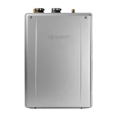EZTR75 11.1 GPM 75 Gal Tank Replacement High Efficiency Residential Liquid Propane Gas Tankless Water Heater Kit