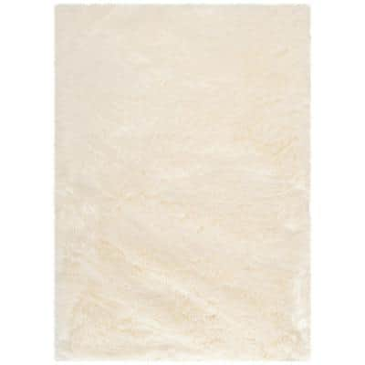 Faux Sheep Skin Ivory 5 ft. x 7 ft. Area Rug