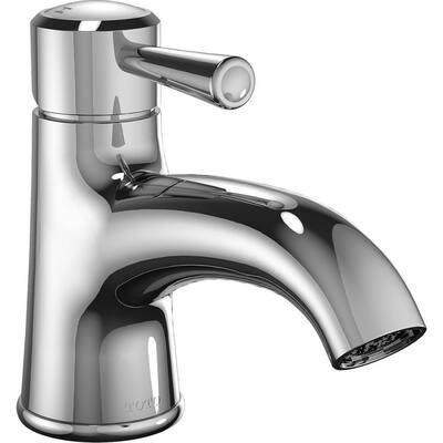 Silas Single Hole Single-Handle Bathroom Faucet in Polished Chrome