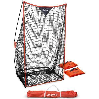 48 in. x 84 in. Sideline Football Training Foldable Kicking Net with Travel Case