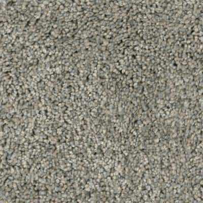 Bays Mountain - Color Creekside 12 ft. Texture Gray Carpet