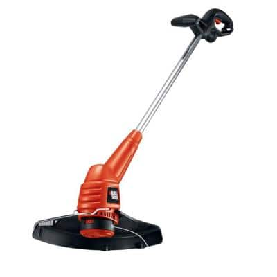 13 in. 4.4 Amp Corded Electric Straight Shaft Single Line 2-in-1 String Grass Trimmer/Lawn Edger