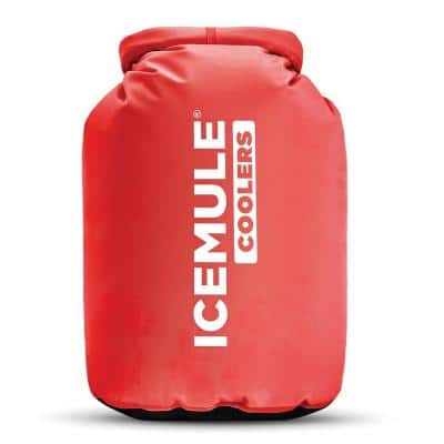 Classic Large 20 l 18 Can Insulated Waterproof Backpack Cooler Bag in Red
