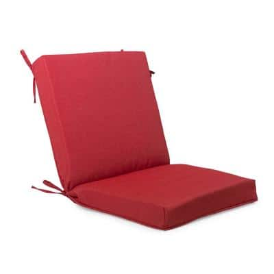 Red Outdoor Cushions Patio, Outside Patio Chair Cushions