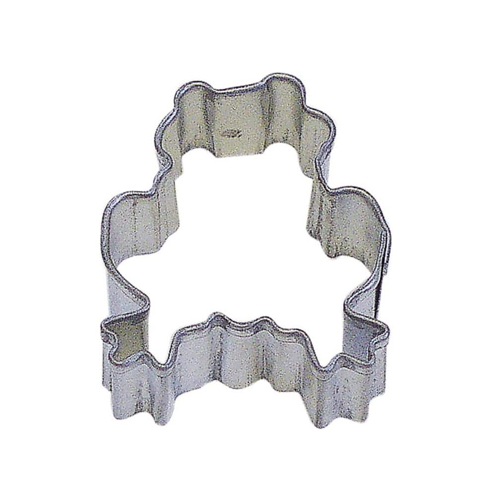 Cybrtrayd 12 Piece Mini Frog Tinplated Steel Cookie Cutter Cookie Recipe Rm 1673 12lot The Home Depot